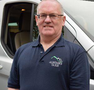 Alistair Burns, owner of Alistair's Taxis